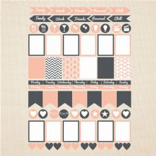 Planner Sticker Sets - Glossy Bright Labels